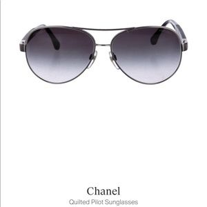 CHANEL Accessories - NWOT! CHANEL Authentic Silver-Tone Aviators!